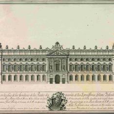 Decoración del palacio del Rocio en Lisboa