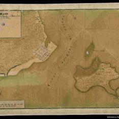 Plano De la entrada y canal de Bocachica