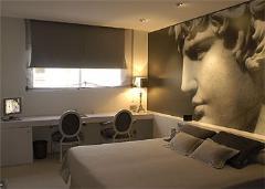 Diseño vanguardista en 16 habitaciones 'high tech'