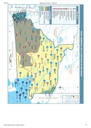 Mapa ambiental de Río Negro. Mapoteca de Educ.ar