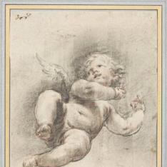 Ángel niño volando