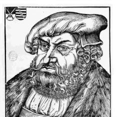 Retrato de Johann I, Elector de Sajonia