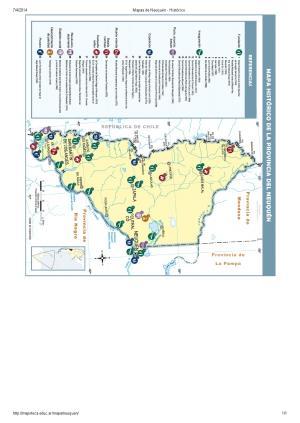 Mapa histórico de Neuquén. Mapoteca de Educ.ar