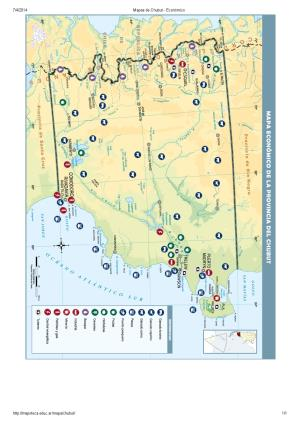 Mapa económico del Chubut. Mapoteca de Educ.ar
