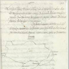 Mapa esquemático del término de Jodar