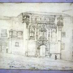 Palacio Jabalquinto en Baeza