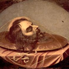 Cabeza degollada de San Juan Bautista