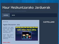Haur Hezkuntzako Jarduerak