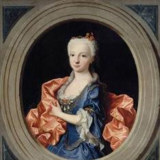 María Teresa Antonia de Borbón, infanta de España (futura delfina de Francia)
