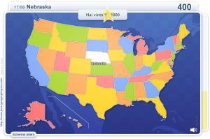 Stati degli USA. Giochi geografici