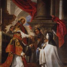 La comunión de Santa Teresa