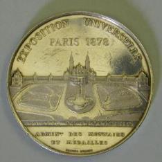 Medalla conmemorativa de la Exposición Universal de 1878