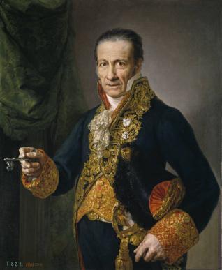 Luis Veldrof, aposentador mayor y conserje del Real Palacio