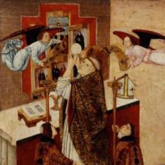 La misa de San Martín de Tours