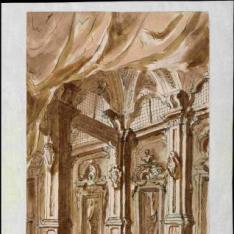 Interior de una estancia palacial