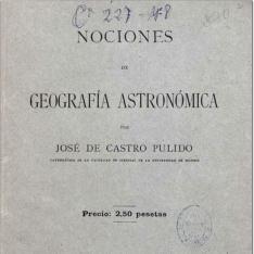 Nociones de geografía astronómica