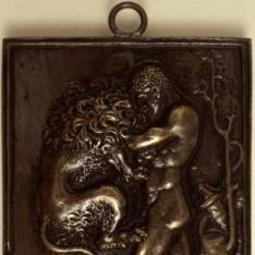 Hércules luchando con el león de Nemea