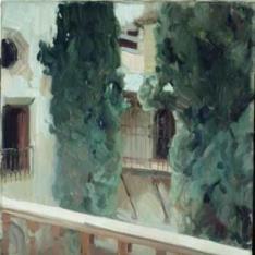 Patio de Dña. Juana de La Alhambra de Granada