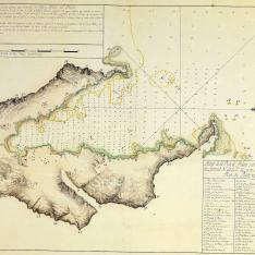 Plano de la Ria de Aldan