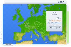 Villes d'Europe. Jeux géographiques