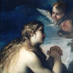 Magdalena penitente en oración
