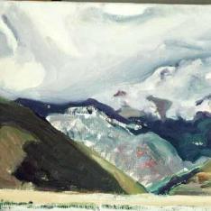 Estudio de montañas, Jaca