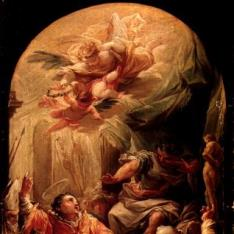 San Vicente mártir ante Decio