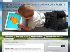 Nuestra ventana mágica al mundo: La P.D.I. en Educación Infantil