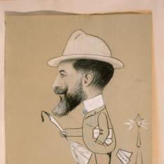 Caricatura de José Lázaro