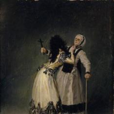 La duquesa de Alba y su dueña