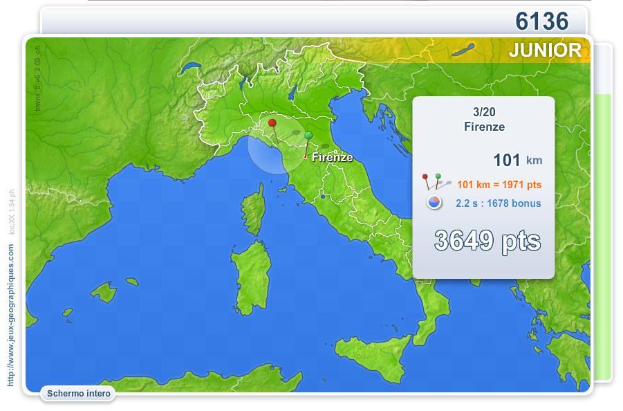 Città d'Italia Junior. Giochi geografici