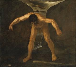 Hércules separa los montes Calpe y Abyla