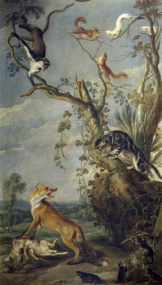 La gata y el zorro