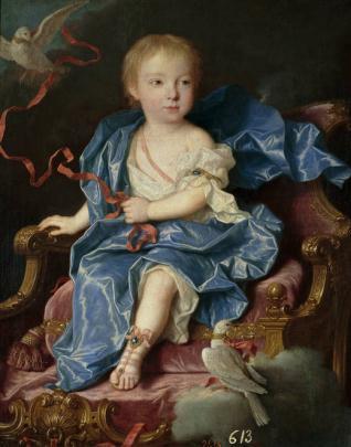 María Antonia Fernanda de Borbón, infanta de España (futura reina de Cerdeña)