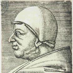 Retrato de León X, Papa