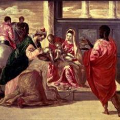 La Adoración de los Magos / Epifanía