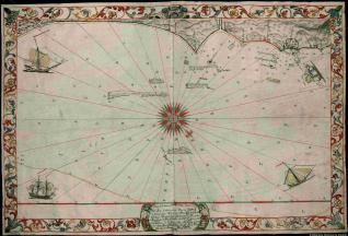 Mapa dela Costa dela Nueba Veracruz