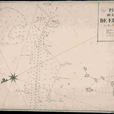 Plano de el canal de el Éste del Rio Mississipi