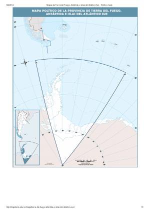 Mapa mudo de capitales de Tierra del Fuego, Antártida e Islas del Atlántico Sur. Mapoteca de Educ.ar