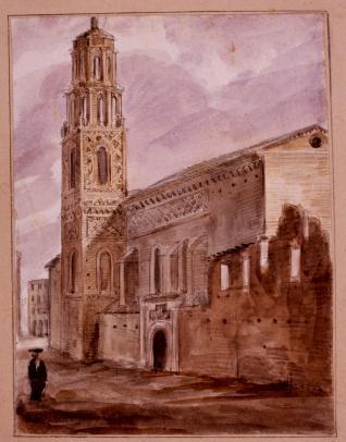 Iglesia de Santa Lucía en Zaragoza