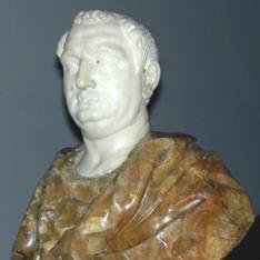 Busto de emperador romano