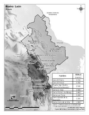 Mapas Para Imprimir Tag Mapa De Nuevo León Mapas