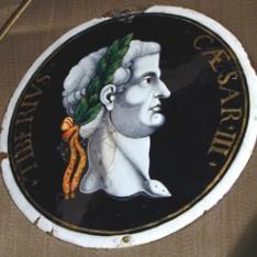 Placa del emperador Tiberio