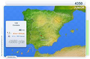 Ciudades de España Junior. Juegos Geográficos