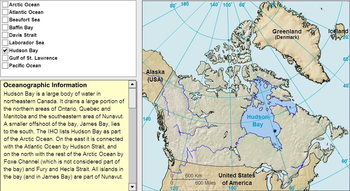 Oceans of Canada. Tutorial. Sheppard Software