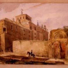 Exterior del convento del Carmen de Ávila