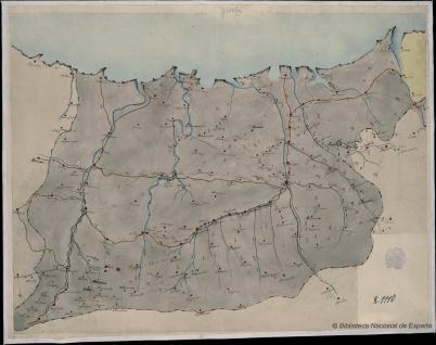 Mapa itinerario de Guipúzcoa