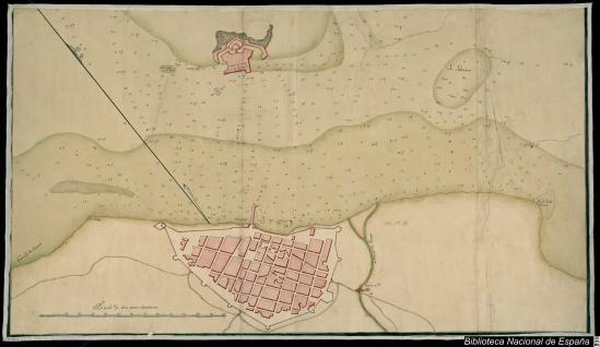 Plano de la ciudad de Veracruz