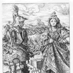 Los Gobernantes de Baviera con sus esposas