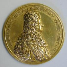 Medalla de Pierre-Cardin Lebret, primer presidente del parlamento de Aix de Provenza